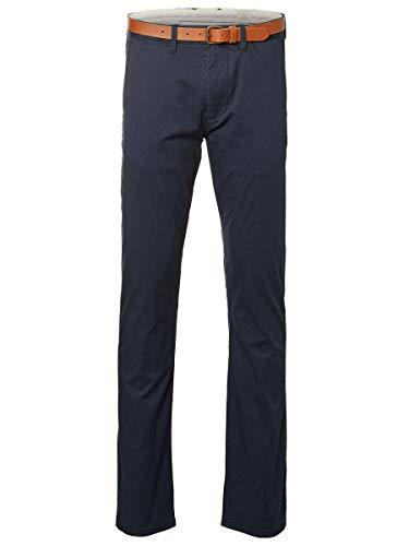 SELECTED HOMME Herren Shhyard Slim St Pants Noos Hose, Dark Sapphire, 31W 32L EU