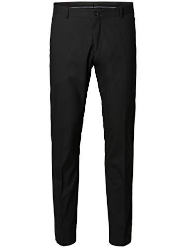 SELECTED HOMME Male Anzughose Slim-Fit- 50Black