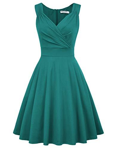1950er Kleid Audrey Hepburn damenkleid 50s Kleid elegant Damen Partykleider Mode Kleid CL698-11 XL