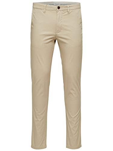 SELECTED HOMME Male Chino SLHYARD Slim FIT - 3232White Pepper
