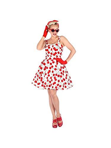 Widmann 10131241 Erwachsenenkostüm 50er Jahre Mode, Rot, Weiß, M